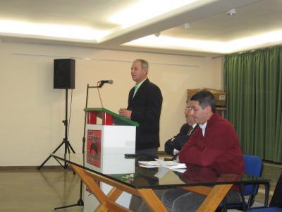 ACTO DE PRECAMPAÑA DE IZQUIERDA UNIDA DE LA ALPUJARRA  EN UGÍJAR