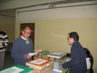 JORNADA ELECTORAL 09/03/2008