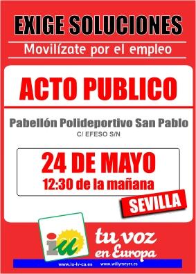 24 de mayo EN SEVILLA CONTRA LA CRISIS