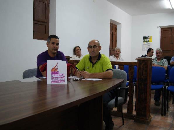CONCEJALES DE IU DE UGIJAR EN EL PLENO DEL 27 DE SEPTIEMBRE