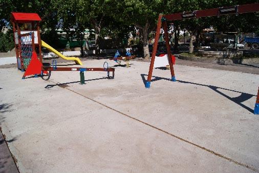 Sobre el parque de la ermita de San Antón